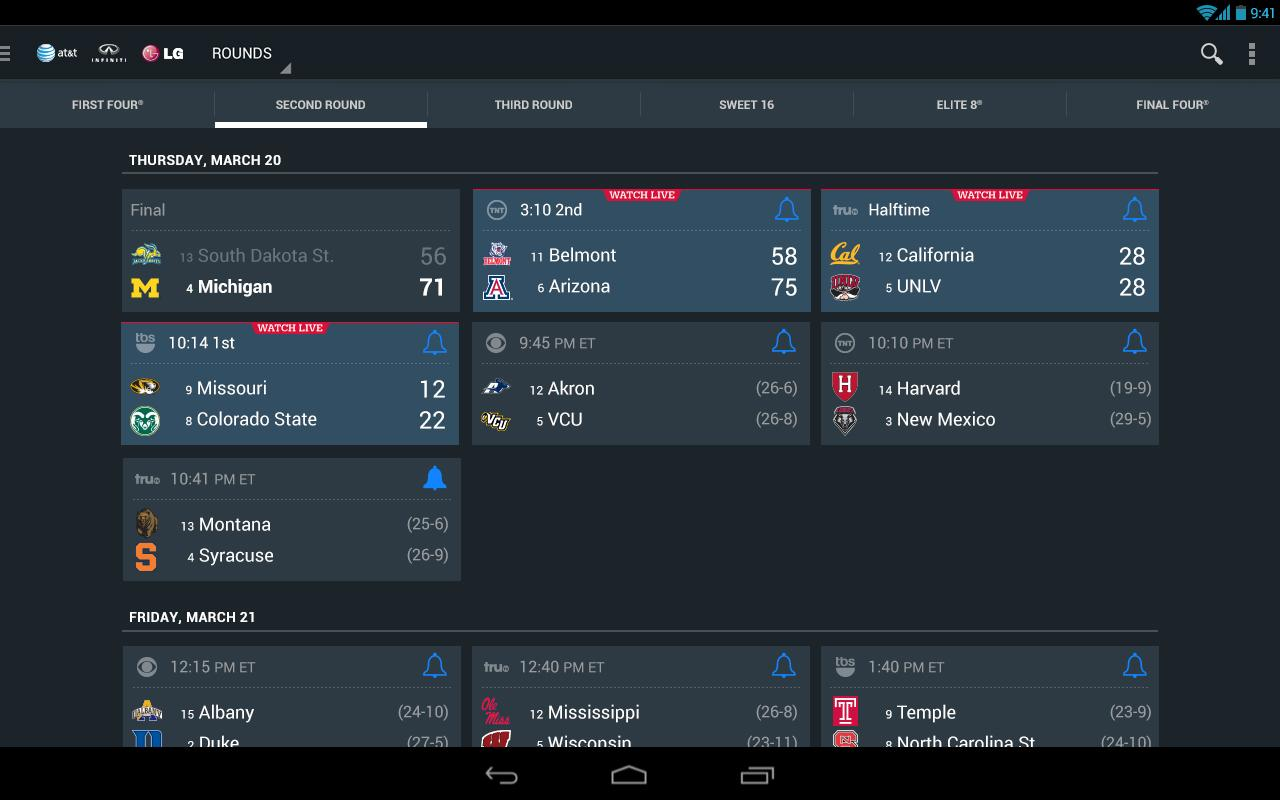 NCAA® March Madness® Live - screenshot