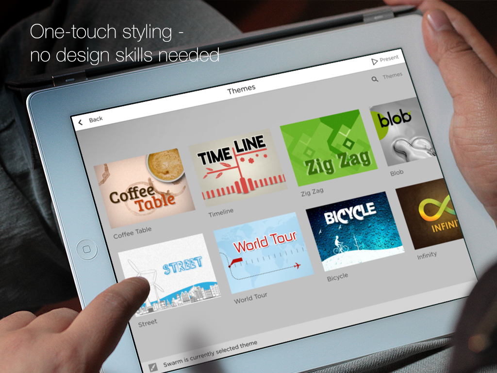 deck one-touch presentations- screenshot