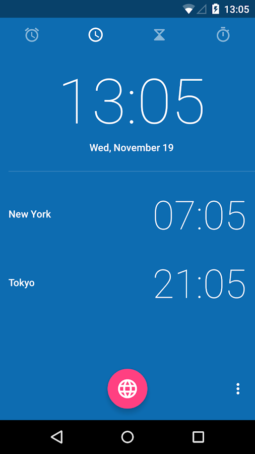 Clock L- screenshot