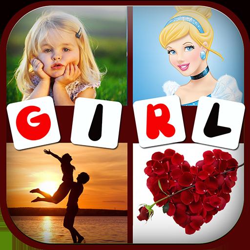 Girls: 4 Pics 1 Word