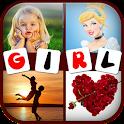 Girls: 4 Pics 1 Word icon