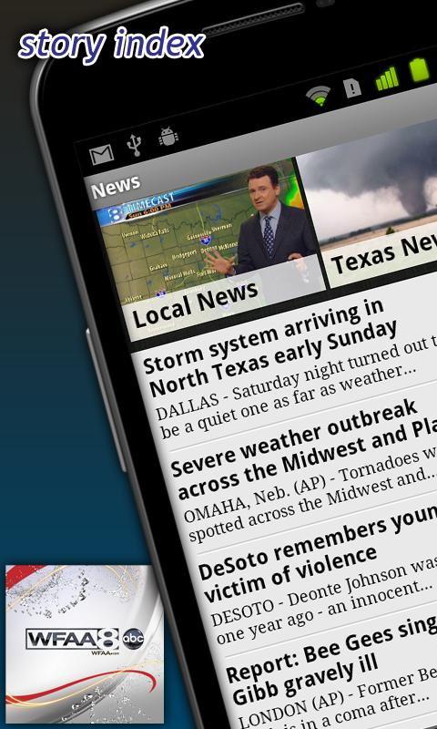 WFAA -North Texas News,Weather - screenshot
