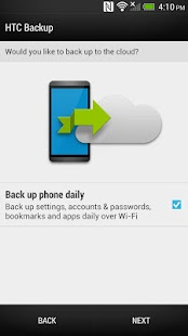 HTC Backup- screenshot thumbnail