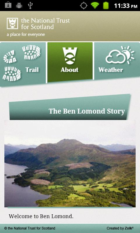 Ben Lomond Trail Companion- screenshot