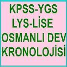KPSS YGS LYS OSMANLI KRONOLOJİ icon