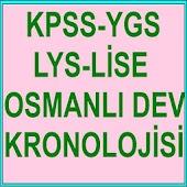 KPSS YGS LYS OSMANLI KRONOLOJİ