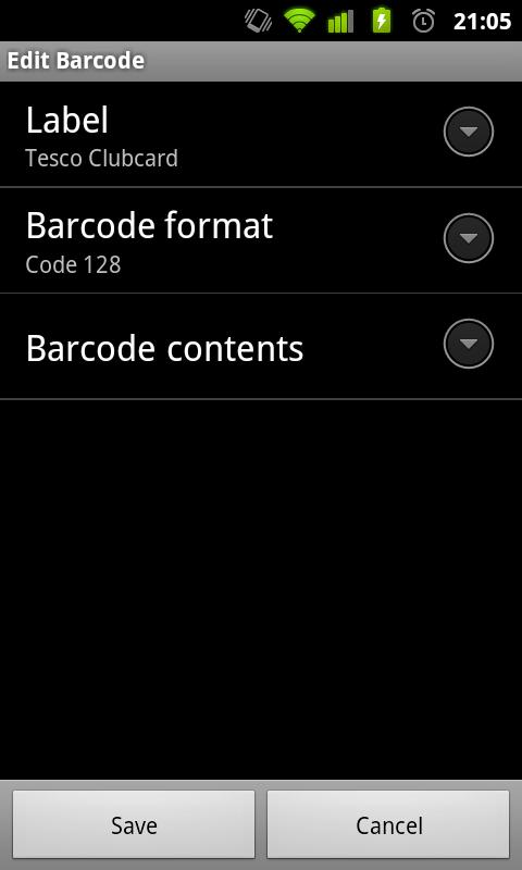 BarClone- screenshot