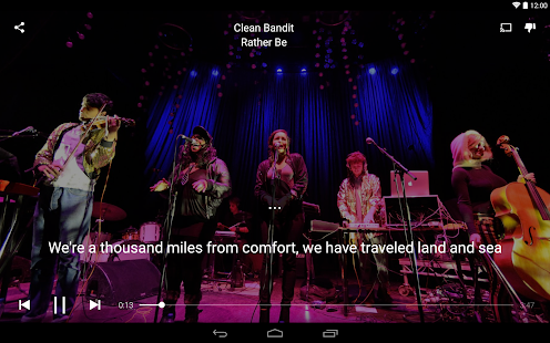 Musixmatch music & lyrics - screenshot thumbnail
