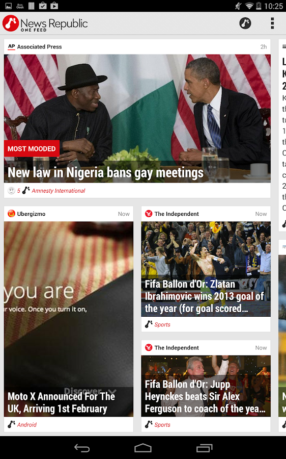 News Republic – Smarter News - screenshot