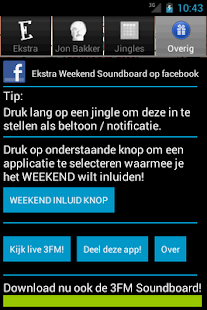 Ekstra Weekend Soundboard - screenshot thumbnail
