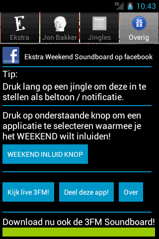 Ekstra Weekend Soundboard - screenshot