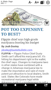 The Baxter Bulletin Print- screenshot thumbnail