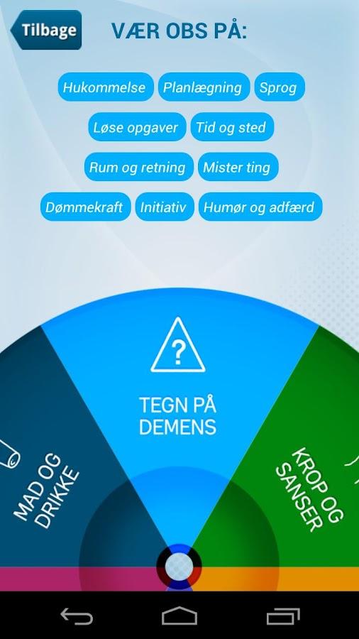 Viden om demens- screenshot