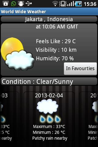 World Wide Weather Lite