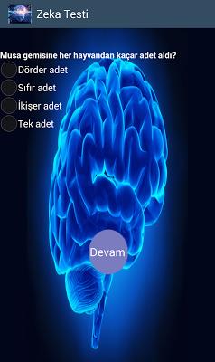 Zeka Testi - screenshot