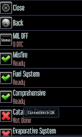 Screenshot of Car Gauge Lite OBD2