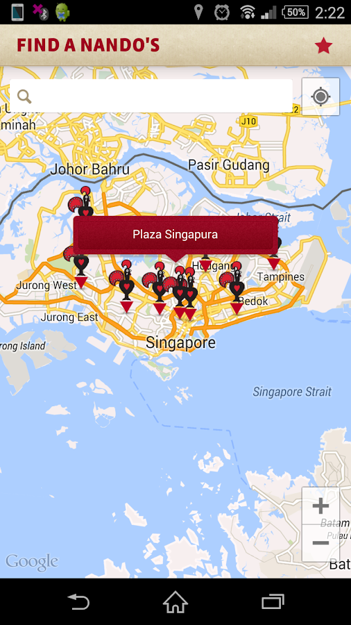 Nando's Singapore- screenshot