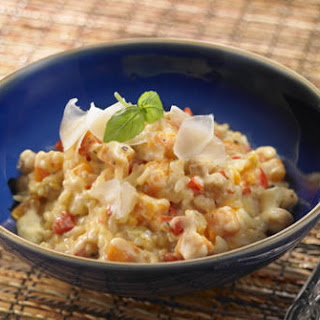 Sweet Potato & Chickpea Risotto Recipe