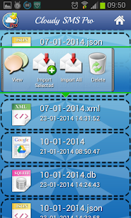 Cloud Sms Backup - screenshot thumbnail