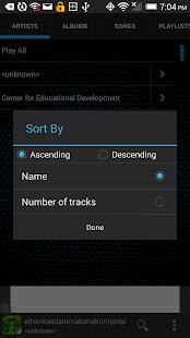 Mp3 Player Free - screenshot thumbnail