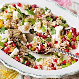 Meryl Streep's wheatberry salad.