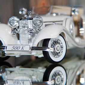 Mercedes 500K by Christian Tiboldi - Artistic Objects Toys ( vitange, old car, 500 k, 500k, benz, mercedes,  )