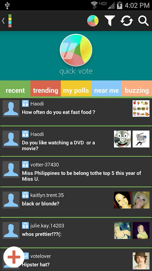 Votter: The Social Voting App - screenshot