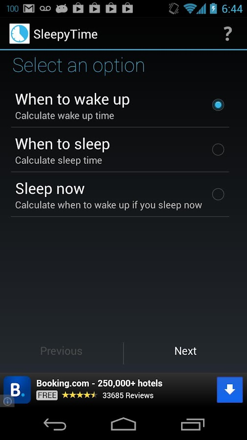 SleepyTime: Bedtime Calculator - screenshot