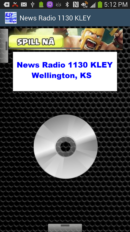 News Radio 1130 KLEY - screenshot