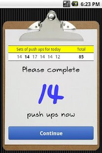 Push Ups- screenshot thumbnail