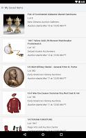 Screenshot of Live Auctions