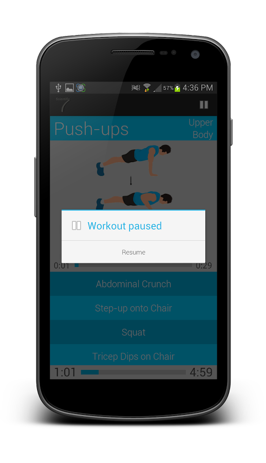 Scientific 7 Min Workout Pro - screenshot