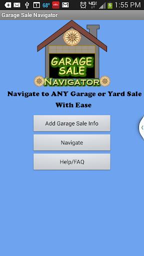 Garage Yard Sale Navigator