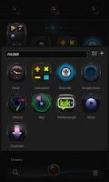 Screenshot of Black Elf GO Launcher Theme