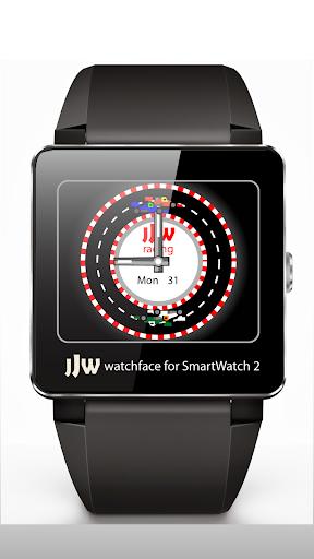 Animated RaceCar2 WatchfaceSW2