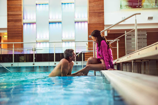 Celebrity_Cruises_Solarium-1 - Chill out with family or friends in Celebrity Eclipse's indoor Solarium.