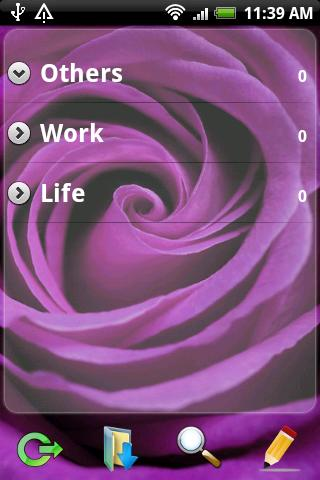 Ultra Notes theme - Purple M 0 - screenshot