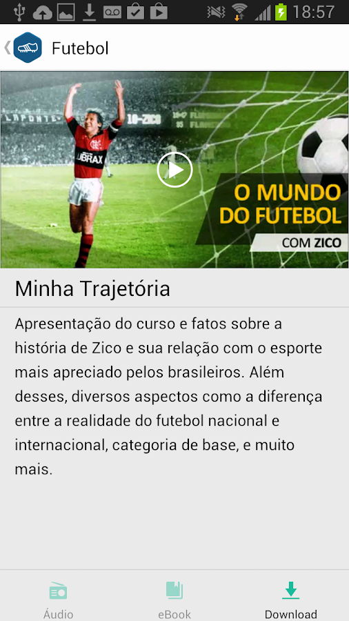 Zico: O Mundo do Futebol - screenshot