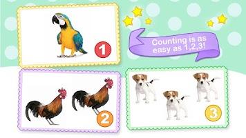 Screenshot of Toddler Counting 123 HD