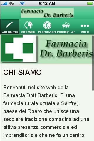 Farmacia Barberis - Sanfrè