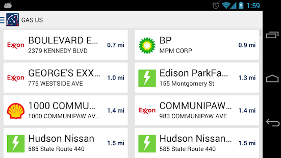 Gas US: Gas Stations in USA - screenshot thumbnail