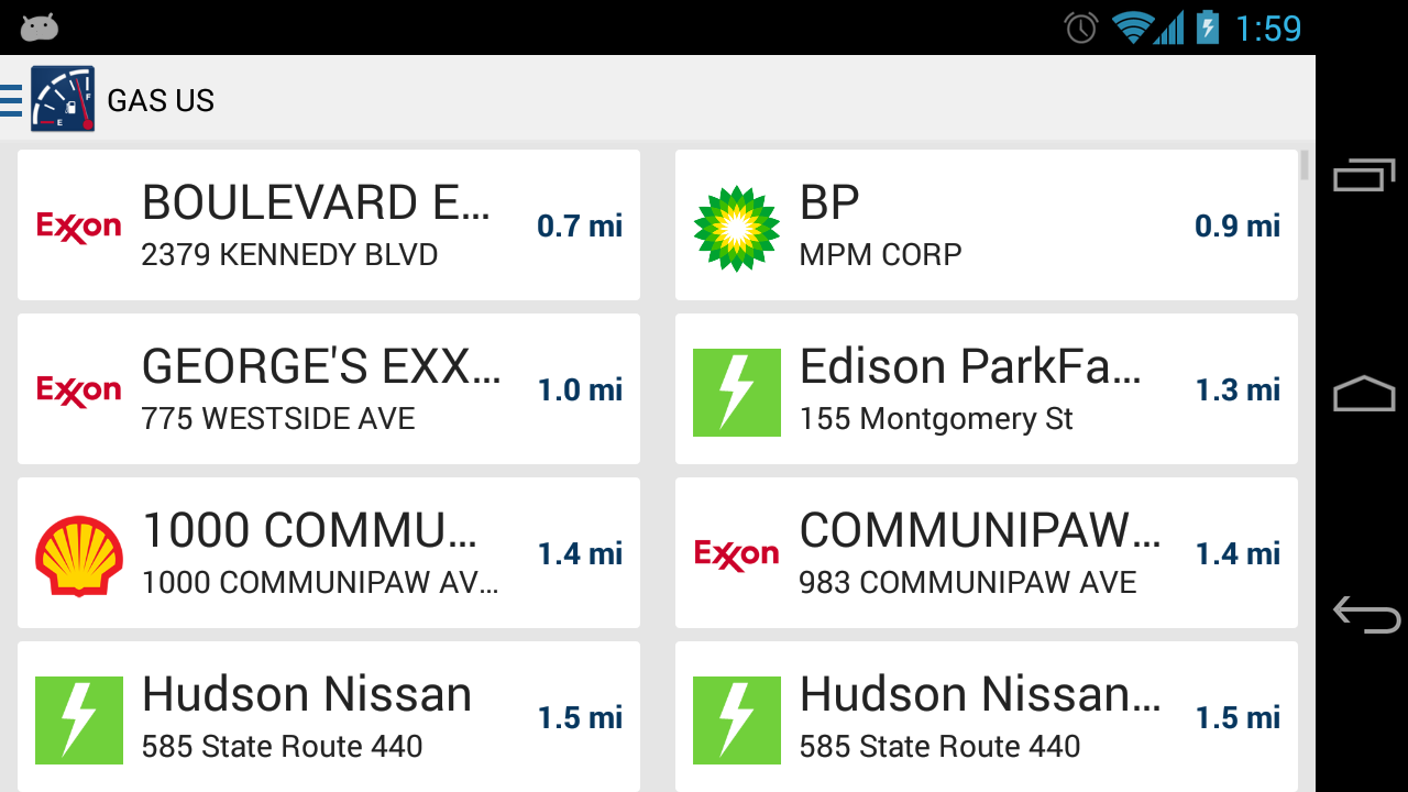 Gas US: Gas Stations in USA- screenshot