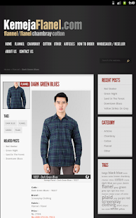 Kemeja Flanel- screenshot thumbnail