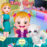 Screenshot of Baby Hazel Tea Party