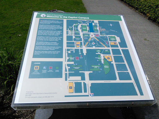 Olympia Capitol Campus Map.Welcome To Capitol Campus Map Portal In Olympia Washington United