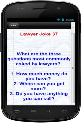 101 + Funniest Lawyer Jokes - screenshot