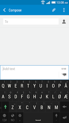 HTC Sense Input-NO - screenshot