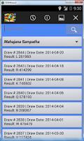 Screenshot of Sri Lankan Sweep Results