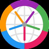 Horzono time zones world clock