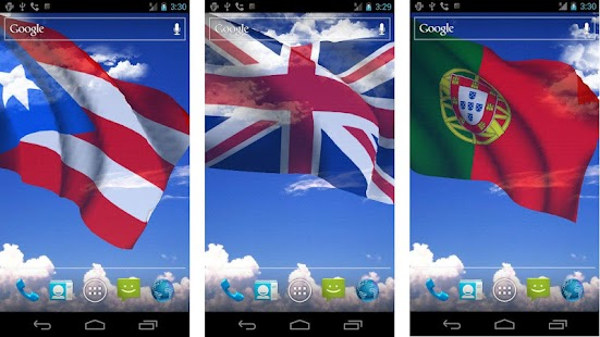 My Country Flag Live Wallpaper - screenshot thumbnail